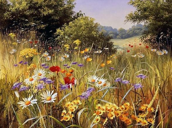 И цветы, и шмели, и трава, и колосья …